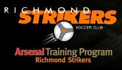 Richmond summer camps Richmond Strikers